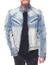CALIBER - Dip Dye Denim Jacket