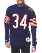 Men - Jersey Inspired Knit Top- Walter Payton