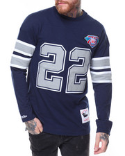 Men - Jersey Inspired Knit Top- Emmitt Smith
