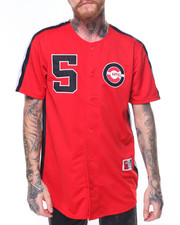 Button-downs - S/S Baseball Canel Jersey