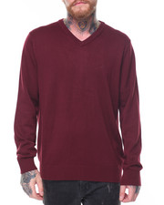 Nautica - V Neck Knit Sweater