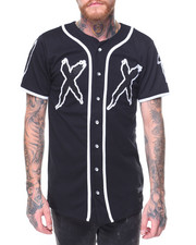 Button-downs - S/S Double X Baseball Jersey