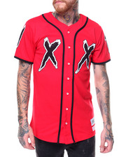 Men - S/S Double X Baseball Jersey