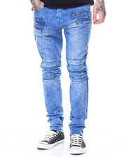 Buyers Picks - Pleated Knee Colored Denim