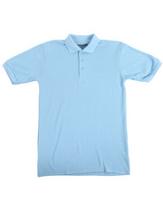 Sizes 8-20 - Big Kids - S/S Boys Polo Pique Shirt (16-20)