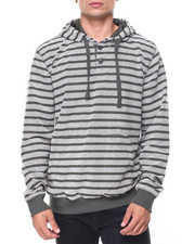 Buyers Picks - Reversed French Terry Stripe Pullover