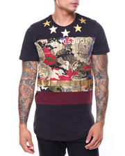 SWITCH - Camo Star Foil Printed Tee