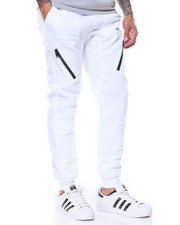 Pants - Quilted Fleece Jogger