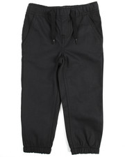 Arcade Styles - Twill Fashion Jogger Pants (2T-4T)