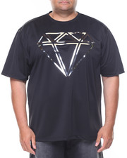 Short-Sleeve - Diamond 3-D Foil Tee (B&T)