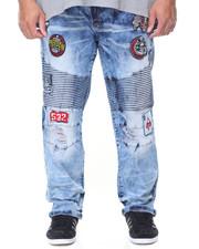 Regular - Patch Biker Pants (B&T)