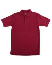Boys - S/S Boys Polo Pique Shirt (16-20)
