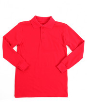 Boys - L/S Boys Polo Pique Shirt (8-14)