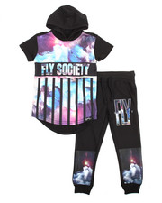Flysociety - 2 Piece Hoodie & Jogger Set (4-7)
