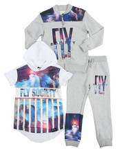 Sets - 3 Piece Screen Print Jogger Set (4-7)
