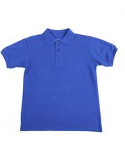 Tops - S/S Boys Polo Pique Shirt (8-14)