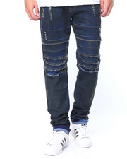 Men - Oil Stain Stretch Jeans