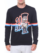 Buyers Picks - Savage Bart Print Sweat Shirt