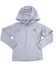 Boys - Marled Popover L/S Hoody (4-7)