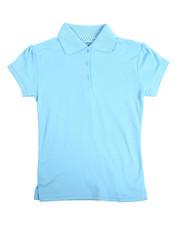 Tops - S/S Girls Polo Shirt (7-20)