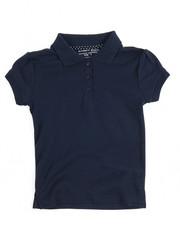 Tops - S/S Girls Polo Shirt (4-6X)