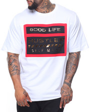 Short-Sleeve - Good Life/Hustler Side Zip S/S Tee (B&T)