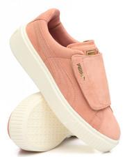 Puma - Suede Platform Strap Sneakers