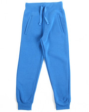 Arcade Styles - Basic Solid Fleece Joggers (8-20)