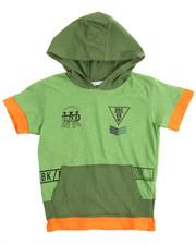 T-Shirts - S/S Militia Hoody Tee (4-7)