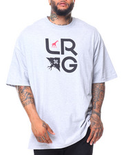 Short-Sleeve - S/S LRG Stacked Tee (B&T)