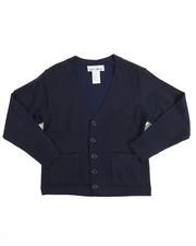 DRJ School Uniforms - Boys V-neck Cardigan Sweater (8-20)