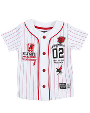 Short-Sleeve - Playmaker Baseball Jersey (2T-4T)
