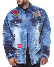 Outerwear - Patch Denim Jacket (B&T)