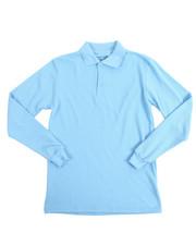 Boys - L/S Boys Polo Pique Shirts (16-20)