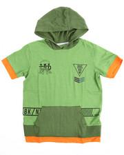T-Shirts - S/S Militia Hoody Tee (8-20)
