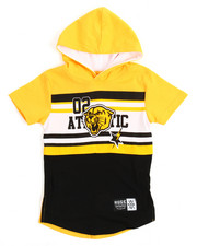 Short-Sleeve - Athletic Hoodie (2T-4T)