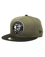 Snapback - 9Fifty New Olive Brooklyn Nets Snapback Hat