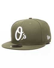 Snapback - 9Fifty New Olive Baltimore Orioles Snapback Hat