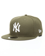 Snapback - 9Fifty New Olive New York Yankees Snapback Hat