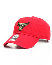 Hats - Chicago Bulls Camo Fill Clean Up Hat