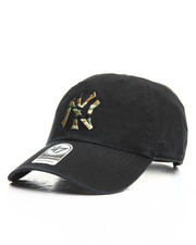 Women - NY Yankees Camo Fill Clean Up Hat