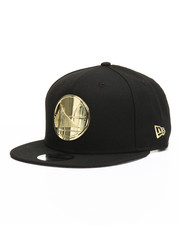Snapback - 9Fifty Metal Badges Golden State Warriors Snapback Hat