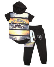 Sizes 2T-4T - Toddler - 2 Piece Hoodie & Jogger Set (2T-4T)