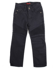 Arcade Styles - Stretch Color Moto Pants (2T-4T)