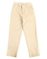 Pants - Boys Flat Front Khaki Pants (16-20)