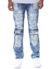 Buyers Picks - Denim Wash Knee Detail Ripped Jeans