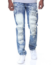 Buyers Picks - Dark Blue Ripped/Patches Jeans