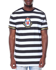 Men - Crest Stripe Tee