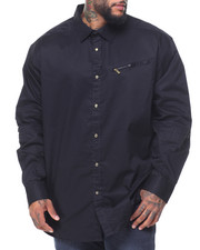 Sean John - L/S Zip Flight Woven (B&T)
