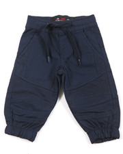 Bottoms - Stretch Twill Moto Jogger (Infant)